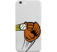 Mitt. Baseball glove. iPhone Case/Skin