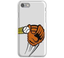Mitt. Baseball glove. iPhone Case/Skin