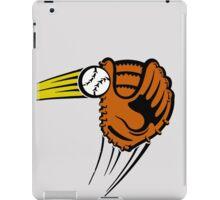 Mitt. Baseball glove. iPad Case/Skin