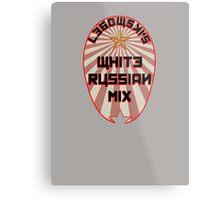 Lebowski White Russian Mix Metal Print