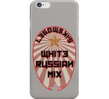Lebowski White Russian Mix iPhone Case/Skin