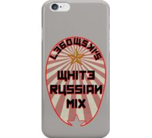 Lebowski White Russian Mix iPhone Case/Skin