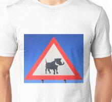 Warthog Warning Sign - Hogs About Unisex T-Shirt