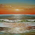 Sunset Beach by Cherie Roe Dirksen