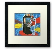 Awesome gamer Framed Print