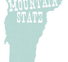 Vermont State Slogan Motto by surgedesigns