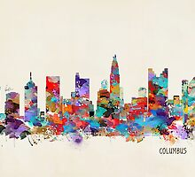 Columbus Ohio skyline by bri-b
