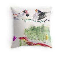 Bergwiese Throw Pillow
