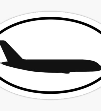 Airbus A380 (side) Sticker