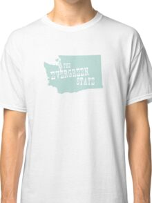 Washington State Motto Slogan Classic T-Shirt