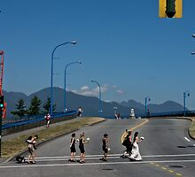 Last Saturday in Vancouver.... by Gabriele Maurus