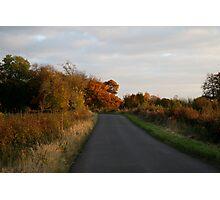 amber lane Photographic Print
