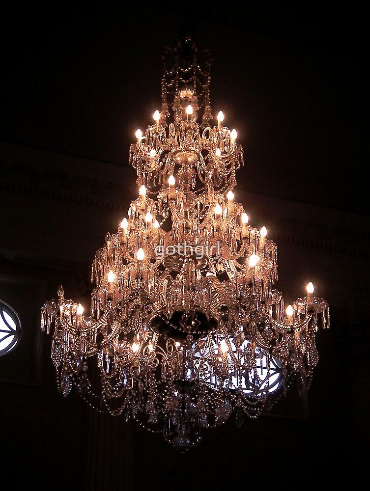 Ornate chandelier by gothgirl