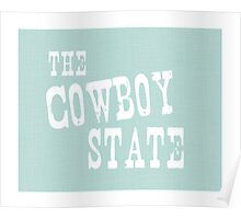 Wyoming State Motto Slogan Poster