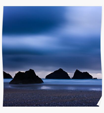 Holywell Bay I Poster