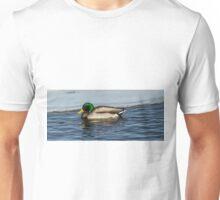 Winter Time Drake Mallard Unisex T-Shirt