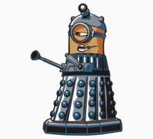 Doctor Gru Dalek - sticker by DJKopet