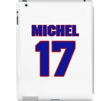 National football player Mike Michel jersey 17 iPad Case/Skin