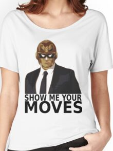 Captain Falcon in Formal Attire 2 Women's Relaxed Fit T-Shirt