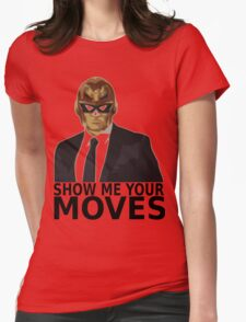 Captain Falcon in Formal Attire 2 Womens Fitted T-Shirt