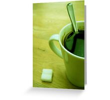 Morning Boost Greeting Card
