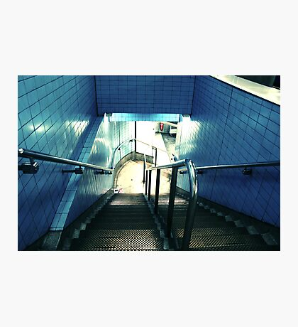 Down to the metro Photographic Print