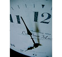 As if time stood still... Photographic Print