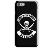 Sons of Satoshi Bitcoin Geek iPhone Case/Skin