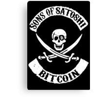 Sons of Satoshi Bitcoin Geek Canvas Print