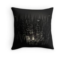 Forest is Alive Throw Pillow