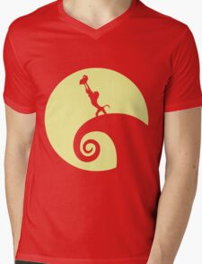 Circle of Fright Mens V-Neck T-Shirt