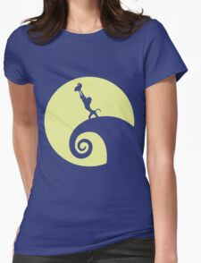 Circle of Fright Womens Fitted T-Shirt