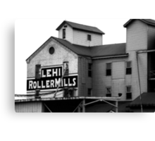 Lehi Roller Mills Canvas Print