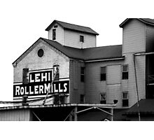 Lehi Roller Mills Photographic Print