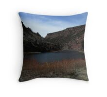Above Little Hole, The Green River Throw Pillow