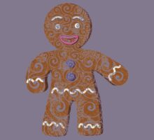 Swirly Gingerbread Man by CarolinaMatthes