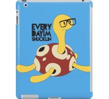 Everyday I'm Shucklin iPad Case/Skin