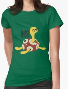 Everyday I'm Shucklin Womens Fitted T-Shirt