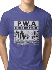 Shuck Tha Police Tri-blend T-Shirt