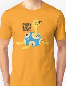 Everyday I'm Shucklin' Shiny Version Unisex T-Shirt