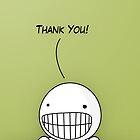 Thank You (Card) by Pablo León-Asuero