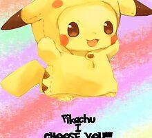 Pikachu i choose you!  by Ksaourious1