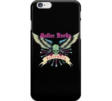 Roller Derby Infirmary (Now In Full Color!) iPhone Case/Skin