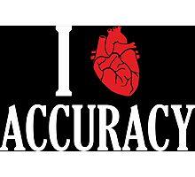 I Heart Accuracy Photographic Print