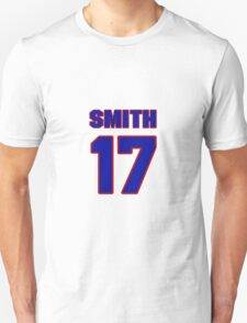 National football player Fletcher Smith jersey 17 T-Shirt