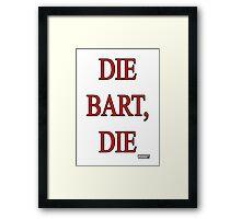The Bart, The Framed Print