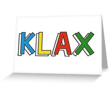 KLAX. Greeting Card