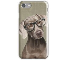 Mr Weimaraner iPhone Case/Skin