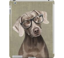 Mr Weimaraner iPad Case/Skin