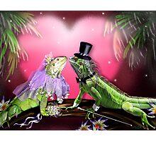 Iggy Wedding Photographic Print